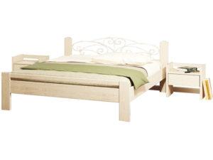 Двоспальне ліжко Амелія