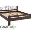 Двоспальне ліжко Амелія 1690