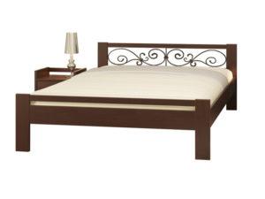 Двоспальне ліжко Жасмін